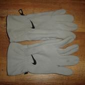 Флисовые перчатки Nike, оригинал, с серийным номером , р 11 отл состояние 85 грн