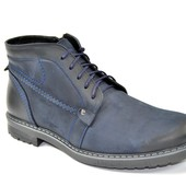Зимние кожаные ботинки Faber