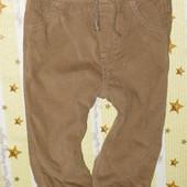 Вельветовые штанишки 6-9 мес.