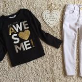 Крутой стильный комплект H&M/ J Jeans на 4-6 лет