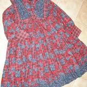 249 Платье Victoria Rose 7-8л. байка новое.