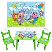 Стол+2 стула распродажа по оптовым ценам!
