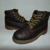 Ботинки Timberland 34 р-р,по стельке 22 см.Мега выбор обуви и одежды!