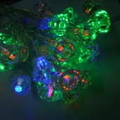 Гирлянда светодиодная Хрусталики 5 м 40 led