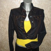 Джинсовый пиджак Jennyfer, размер L