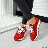 Кроссовки, красный