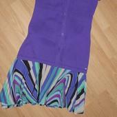H&M Яркая летняя юбка, р.6 (36)