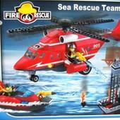 Конструктор Пожарные спасатели, 905 Brick , 404 деталь