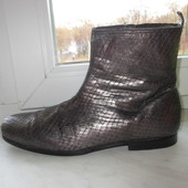 Продам кожаные ботинки Heschung 41 р.Франция.