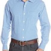 Акция 290грн.!!! Мужская рубашка с длинным рукавом American Icon размер XL цвет синий в клетку