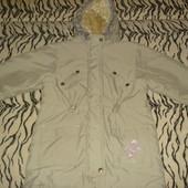Деми куртка (парка) для девочки (6 лет)