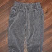 Велюровые штанишки BabyK 9-12 мес.