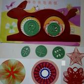 Набор для рисования, кролик-черепаха для рисования узоров, новые