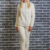 Махровая женская пижама электрик 01331 (2 цвета)