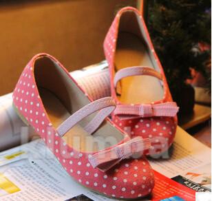 Туфли балетки текстильные фото №1