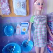Беременная кукла Defa