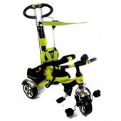 Велосипед трехколесный tilly combi trike лимонный (BT-CT-0013 Lemon)
