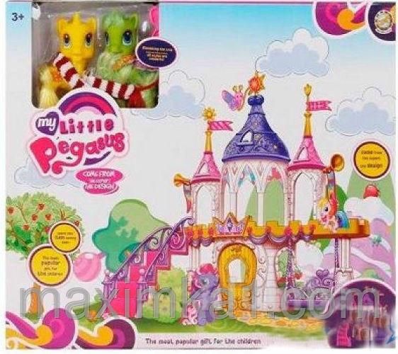 Замок для пегаса и единорога my little pony фото №1