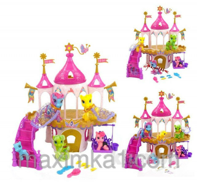 Замок для пегаса и единорога my little pony фото №2
