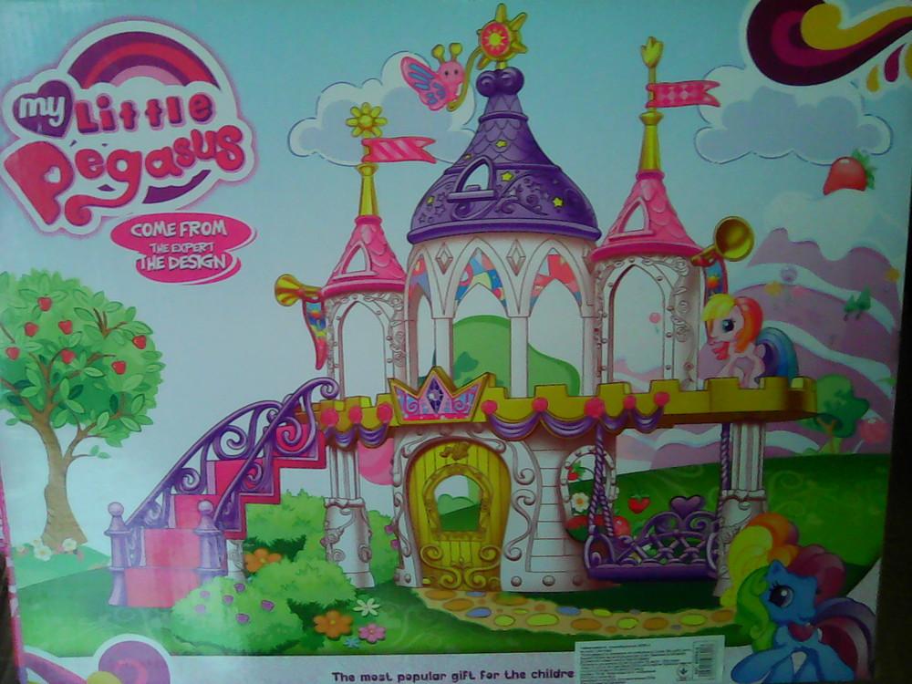 Замок для пегаса и единорога my little pony фото №4