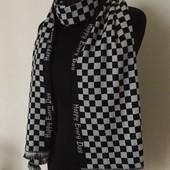 Стильный мужской шарф в мелкие квадратики. Распродажа!!!