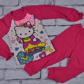 Детская пижама интерлок-пинье на 2-7 лет