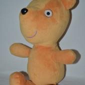 Большой Peppa pig мишка тедди любимый друг пеппа пиг Peppa pig свинки Пеппы