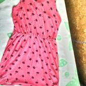 Яркое платье YD с необычной спинкой на 10 -11 лет ( 146)