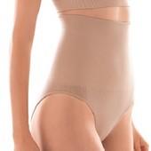 -20% Утягивающие трусики слипы с завышенной талией, бежевые модель Lyla, Флоранж Florange L,