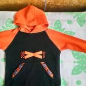 Next Флисовая кофта, худи для мальчика 4- 5 лет ( 104 -110)