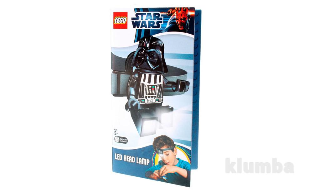 Лего фонарик звездные войны дарт вейдер налобный lgl-he3 фото №1