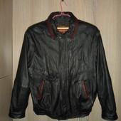 куртка курточка кожанная 50разм