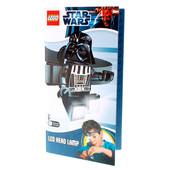 Лего фонарик Звездные войны Дарт Вейдер налобный lgl he3