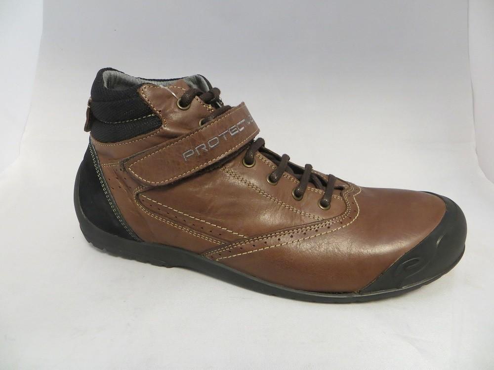 Кожаные ортопедические ботинки protective - германии. фото №2