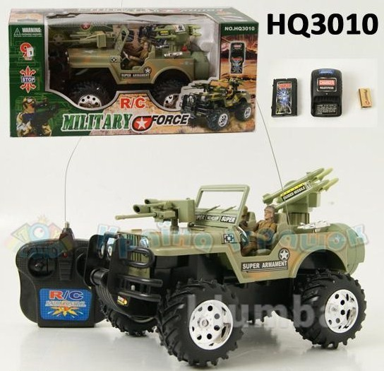Машина-джип hq3010 на радиоуправлении фото №1