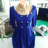 Платье молодежное с отделками S,M,L