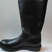 Мега стильные кожаные сапоги (Италия)