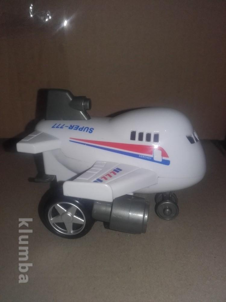 Распродажа - самолет поезд инерционный фото №1