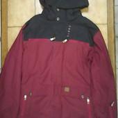 бордова куртка для сноуборда Oxbow L XL