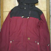 бордова куртка для сноуборда Oxbow L