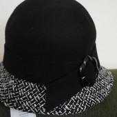 Женская  шляпа Marks & Spencer- оригинал. Шерсть 100%