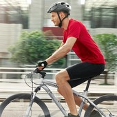 Велошорты с 3D подушкой (с памперсом) от TCM Tchibo, 56-58