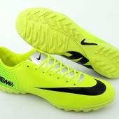 Бампы, копы, сороконожки, футбольная обувь Nike Mercurial 06M 42 размер