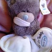 Мишка Тедди с пеленочкой 12 см