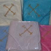 крыжма ,полотенце для крещения Турция