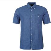 Мужская рубашка Pierre Cardin, лён-хлопок, S ( 48-50).