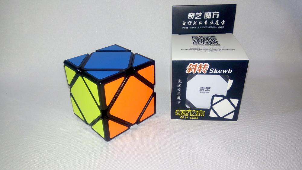 Головоломка скьюб qiyi mofangge skewb (кубик рубика) фото №1