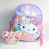 детский рюкзак для дошкольника hello kitty розовый