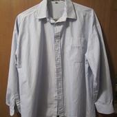 """Рубашка """"Esprit"""" в голубую полосочку, в отличном состоянии как новая(одевалась 1 раз),Размер 40,Уп12"""