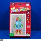 Мозаика 150 фишек 1,5см 6 цветов  Joy Toy 2714